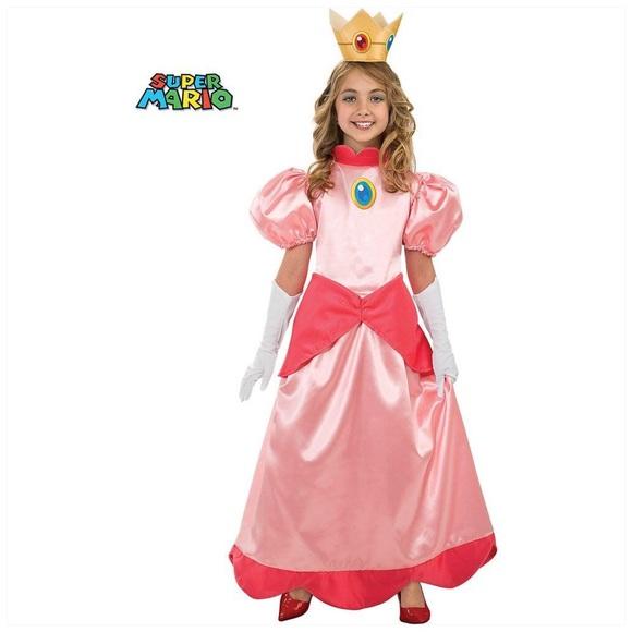 Girls Super Mario Princess Peach Costume 4/6  sc 1 st  Poshmark & Rubieu0027s Costumes Costumes | Girls Super Mario Princess Peach Costume ...